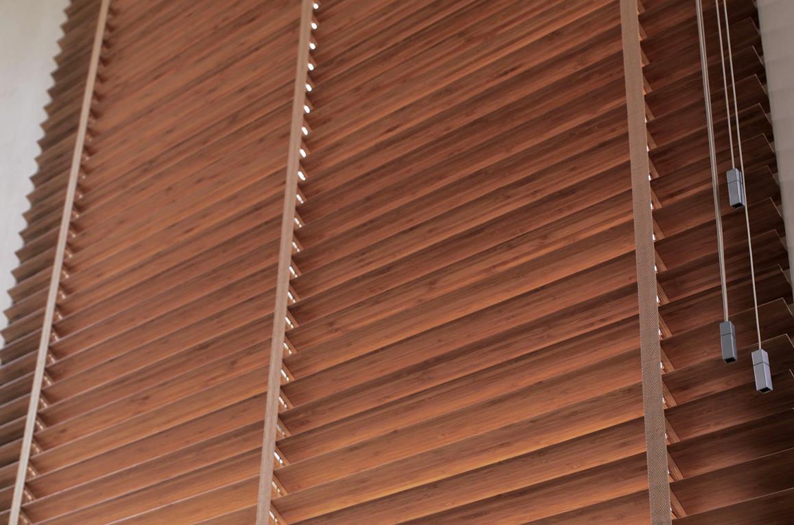 żaluzje poziome drewniane